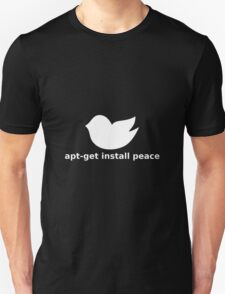 Install peace Unisex T-Shirt