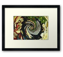 """Fruit Smoothy, """"Looking Into  The Blender"""" Framed Print"""