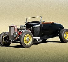 1929 Ford Roadster  by DaveKoontz