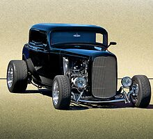 1932 Ford 3 - Window Coupe by DaveKoontz