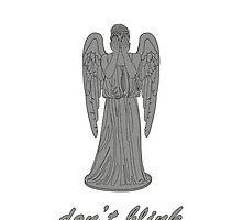 Weeping Angel -Don't Blink (script font) by sim75