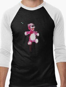 Teddy Bear Breaking Men's Baseball ¾ T-Shirt