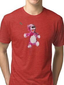 Teddy Bear Breaking Tri-blend T-Shirt