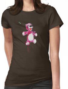 Teddy Bear Breaking Womens Fitted T-Shirt