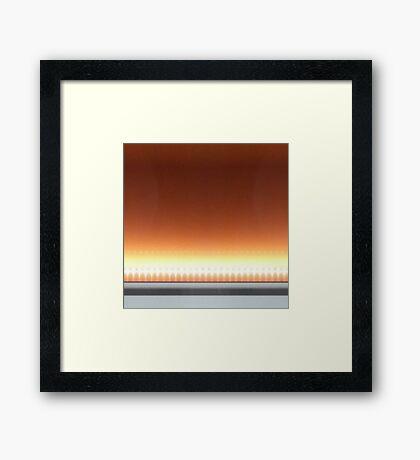 Warm Glow Framed Print