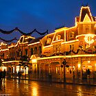 Casey's Corner Nightime Christmas by ThatDisneyLover