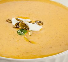 Squash Soup by Jerry Deutsch