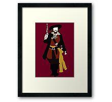 Captain Barbossa - Pirates of the Caribbean Framed Print