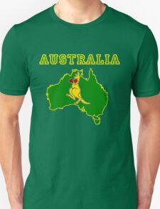 Aussie Boxing Kangaroo T-Shirt