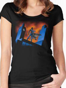 Sherlock Cartoon Women's Fitted Scoop T-Shirt