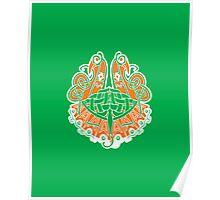 Irish shield  Poster