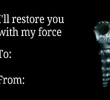 Of Mice & Men: Restoring Force card by Krazylarry96