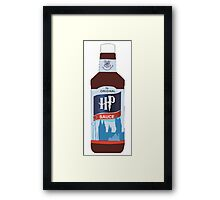 Harry Potter HP Sauce Tee Framed Print