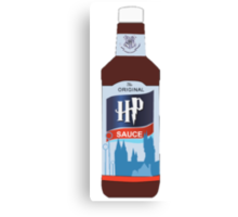 Harry Potter HP Sauce Tee Canvas Print