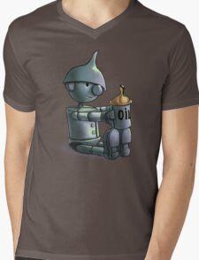 Baby Tinman Mens V-Neck T-Shirt