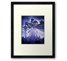 Wrath of the Lich King Framed Print