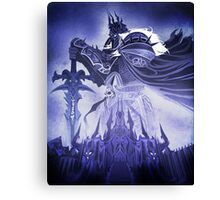 Wrath of the Lich King Canvas Print