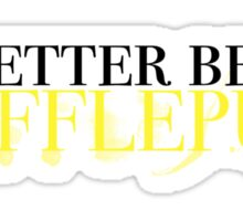 Hufflepuff! Sticker
