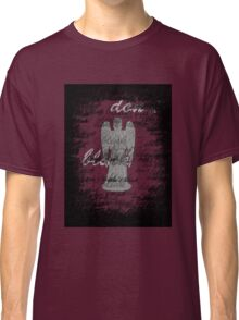 Weeping Angel -Don't Blink (scatter script) Classic T-Shirt