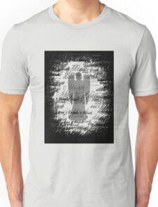 Weeping Angel -Don't Blink (scatter script) Unisex T-Shirt