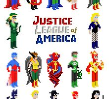 8 bit Justice by dyl-pyl