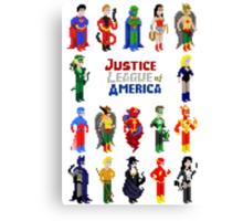 8 bit Justice Canvas Print