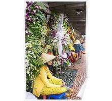 flower seller Poster
