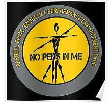 Barbell Glute Bridge - My Performance Enhancement Drug Poster