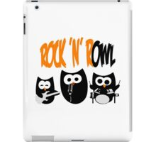 Rock'n'R-OWL iPad Case/Skin