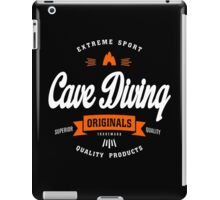 Cave Diving Extreme Sport W&O Design Art iPad Case/Skin
