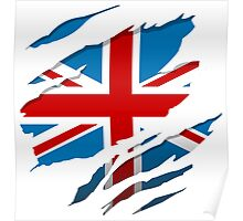British Flag Pride Poster