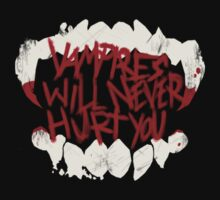 MCR Vampires Will Never Hurt You Teeth logo by House-Of-Wolves