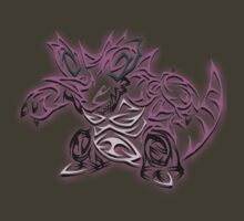 Tribal Nidoking by BadrHoussni