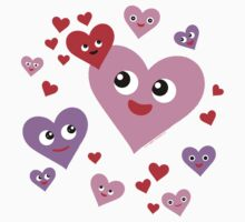 Super Happy Hearts by ArtVixen