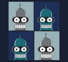 Futurama - Bender by Kickmes0n