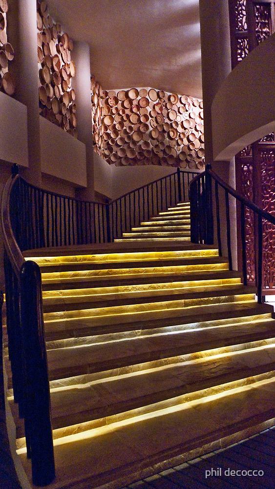 Serengeti Stairway by phil decocco