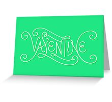 Valentine Lettering Greeting Card