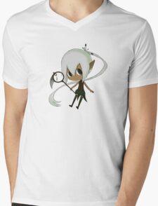 Chibi fighter Mens V-Neck T-Shirt
