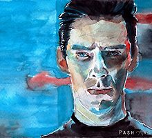 Khan - Star Trek Into Darkness (Watercolor) by PashArts