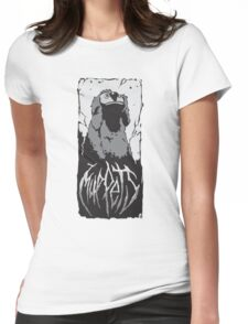 Death Metal Rowlf Muppets Womens Fitted T-Shirt
