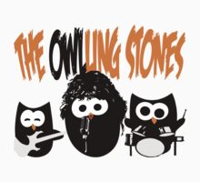 The Owl-Ling Stones One Piece - Short Sleeve