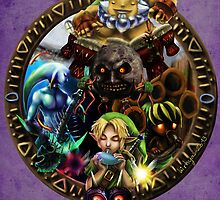 Majora's Mask by Lirhya