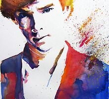 Sherlock - Splash of Colour by PashArts