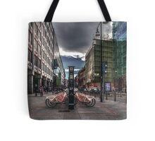 Bicycles parking Tote Bag
