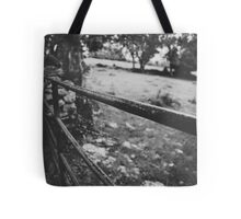 Black & White countryside Tote Bag