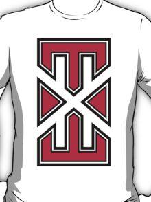 red_white_varsity.EXE T-Shirt