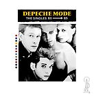 Depeche Mode : Single 81-85 - Paint B&W - With name by Luc Lambert