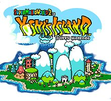 Yoshi's Island Title Screen by PHaZerous