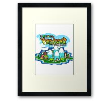 Yoshi's Island Title Screen Framed Print