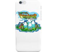 Yoshi's Island Title Screen iPhone Case/Skin